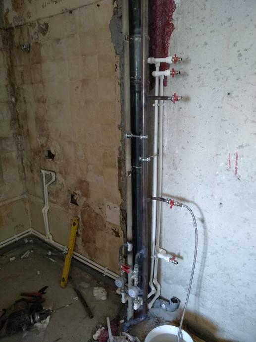 Замена стояков водоснабжения в квартире - как правильно сделать