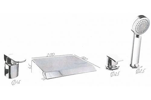 Как просверлить отверстие в чугунной ванне. как установить смеситель на борт ванны: пошаговая инструкция по установке. всё по старинке. отверстие в чугунной ванне