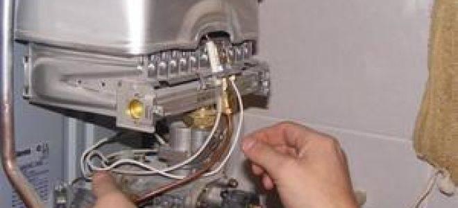 Почему не зажигается газовая колонка при включении воды: причины, что делать?