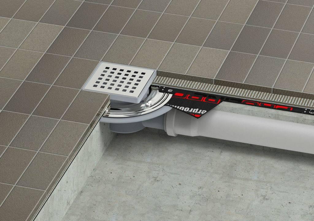 Как сделать слив душевой кабины если канализация выше