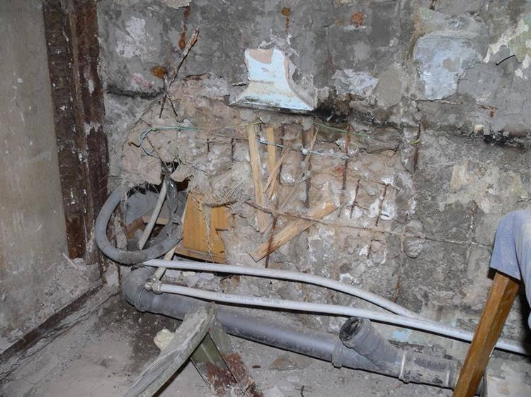 Система отопления пятиэтажного дома с нижней разводкой