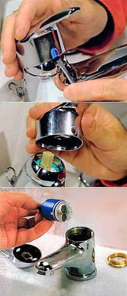 Как правильно разобрать однорычажный смеситель: особенности устройства и разборки однорычажных кранов, видо