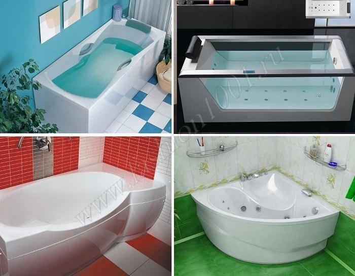 Параметры, по которым можно опеделить, какая ванна лучше — акриловая или стальная