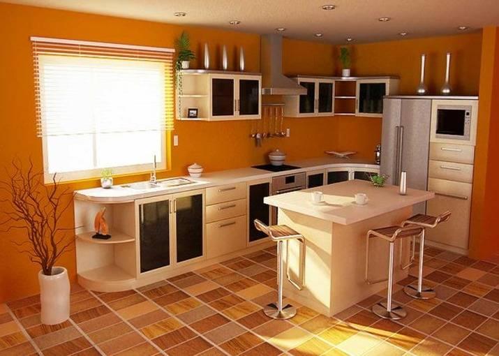 Напольное покрытие для кухни что выбрать - полезные советы