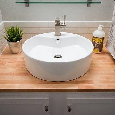 Полка под накладную раковину в ванную выбор, монтаж, изготовление своими руками