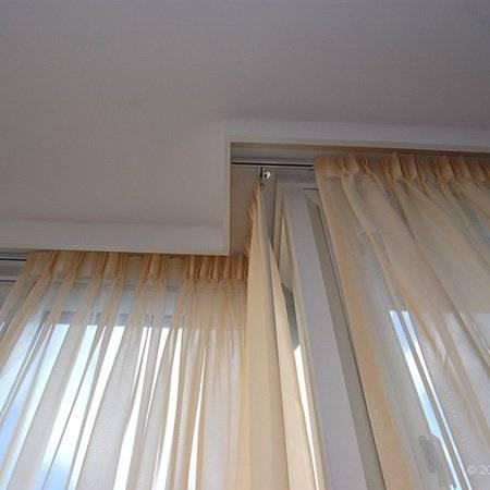 Как повесить шторы на косое окно? - строительные рецепты мира