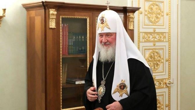Личность патриарха кирилла вне стен храма