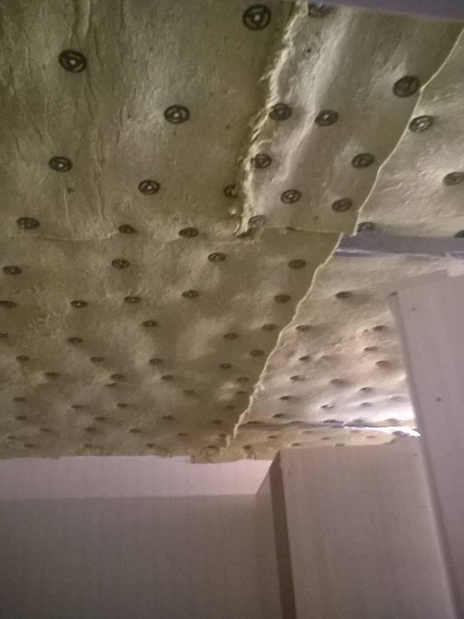 Как сделать шумоизоляцию потолка в квартире под натяжной потолок