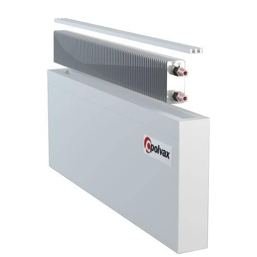 Водяные конвекторы отопления: принцип работы, отличие от радиаторов, критерии выбора