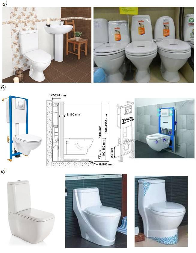 Как правильно выбрать унитаз для квартиры или частного дома