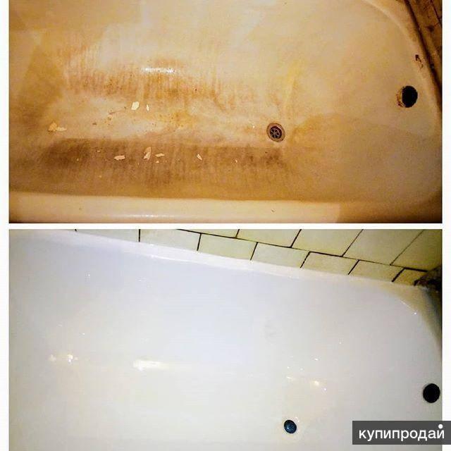 Жидкий акрил для ванны - технология нанесения своими руками, наливной акрил для ванной.