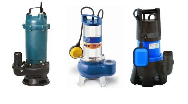 Как выбрать насос для откачки канализации: все про канализационные насосы