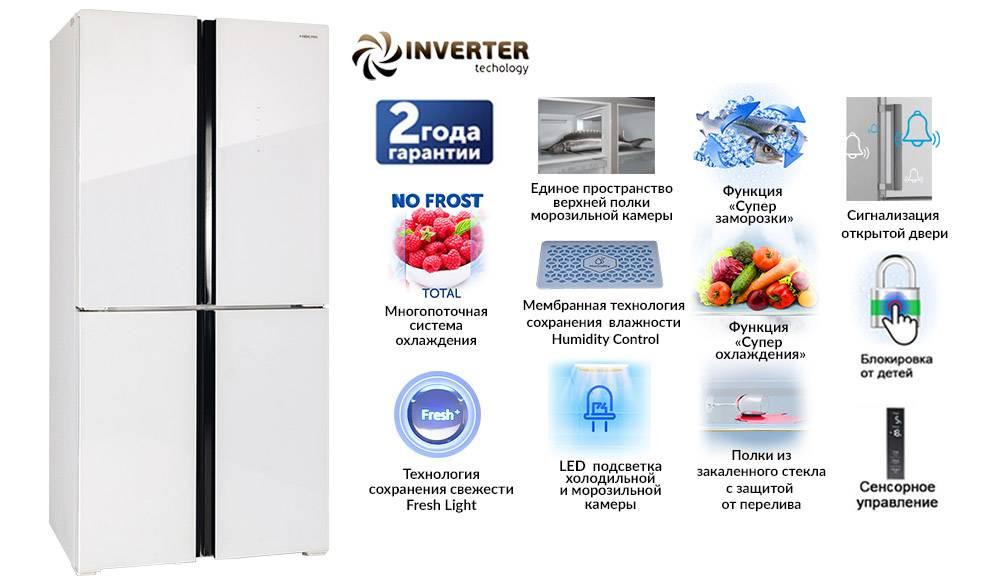 9 лучших инверторных холодильников