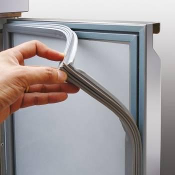 Восстановление уплотнительной резинки в холодильнике без замены своими руками