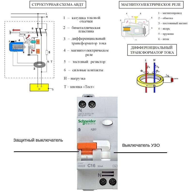 Установка узо: схемы подключения для однофазных и трехфазных сетей | ichip.ru