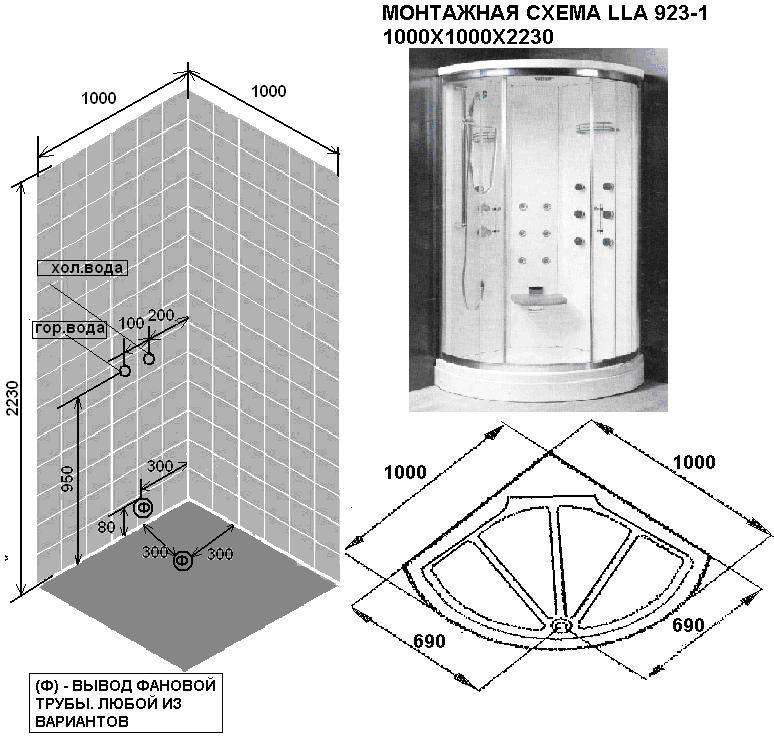 Душевая кабина с ванной: размеры. дизайн, функционал, отзывы, цены