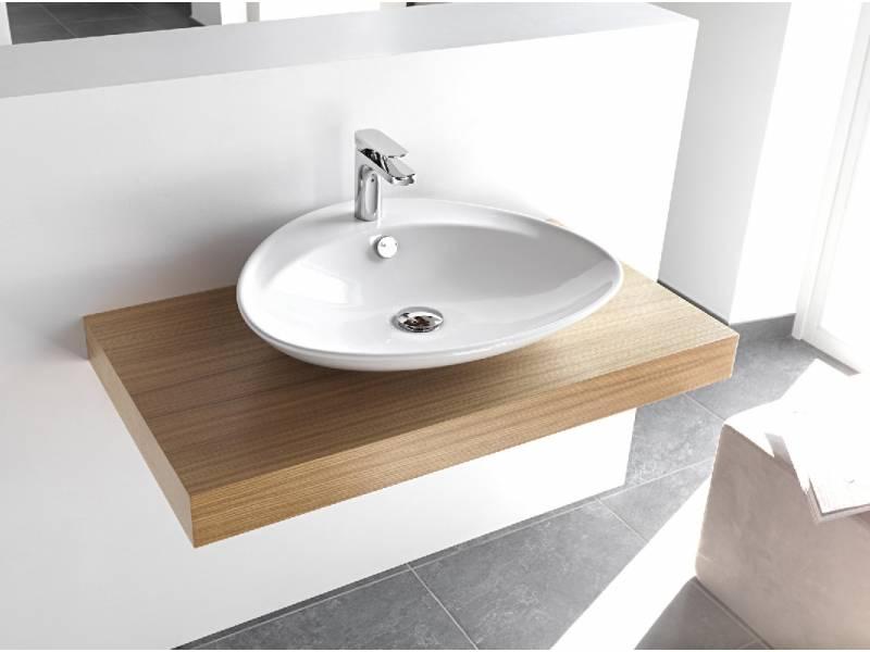 Выбор накладной раковины на столешницу в ванную комнату