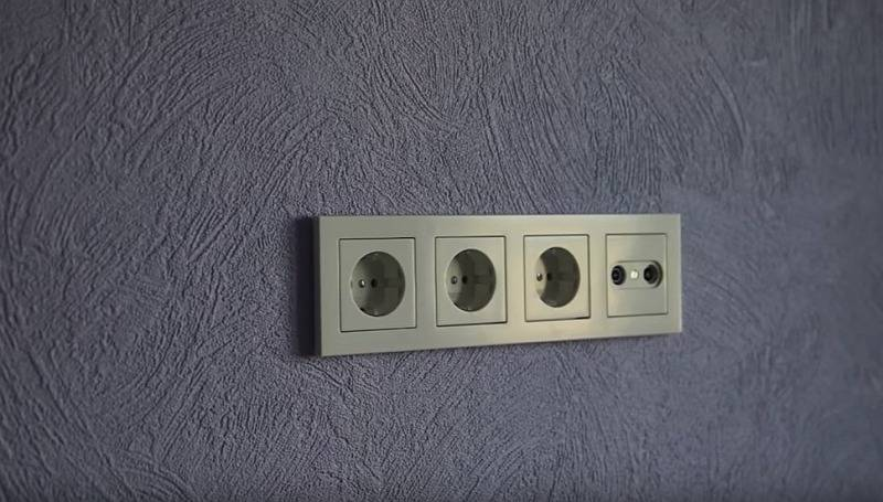 Монтаж наружной электропроводки