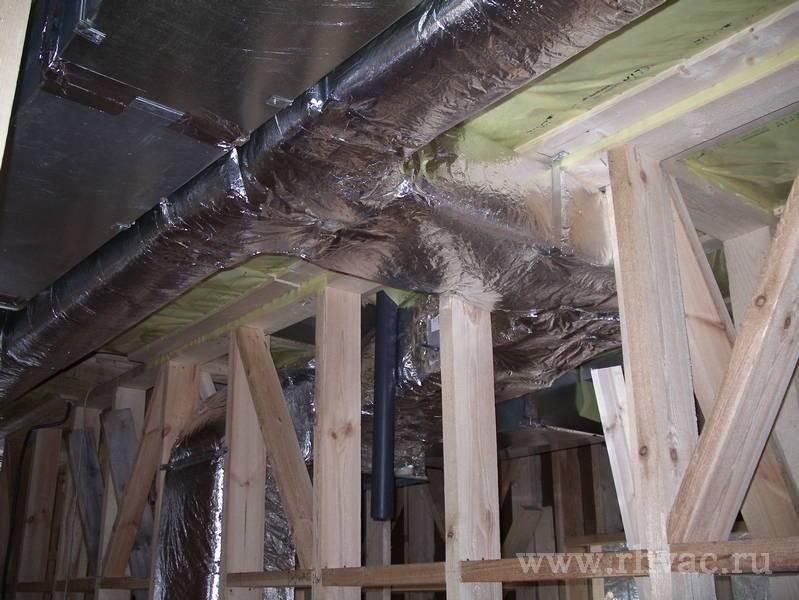 Система вентиляции в каркасном доме своими руками? обзор