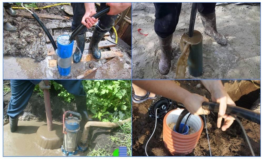Как очистить от песка скважину: 5 проверенных способов | гидро гуру