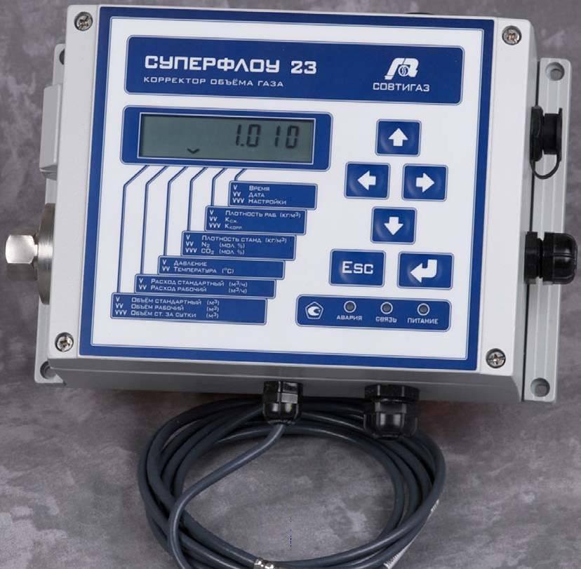 Зачем нужен корректор для газового счетчика?