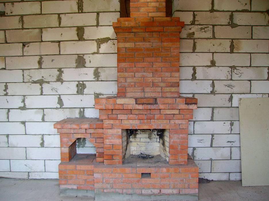 Как сделать камин своими руками в частном доме, делаем кладку, как построить, сложить правильно, изготовление