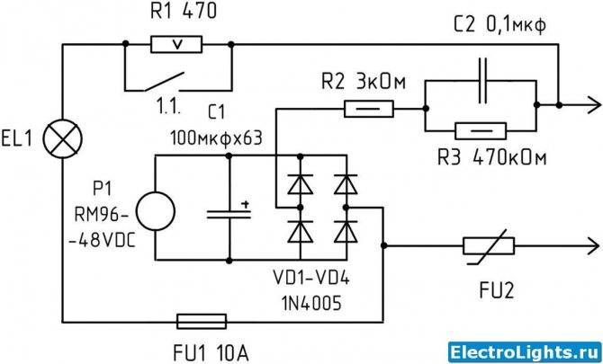 Как сделать плавное включение ламп накаливания и для чего оно нужно