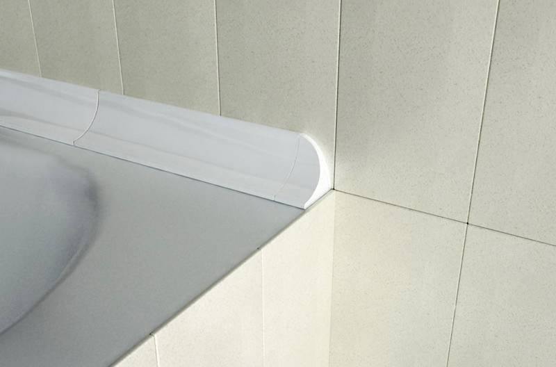 8 идей: чем заделать стык между ванной и плиткой