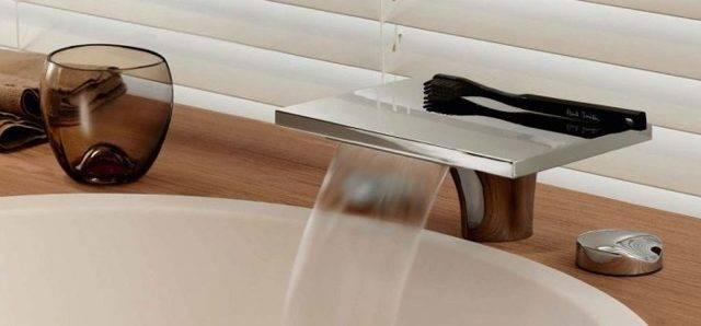 Каскадные смесители (водопады) для ванной и раковины: подбор, отзывы