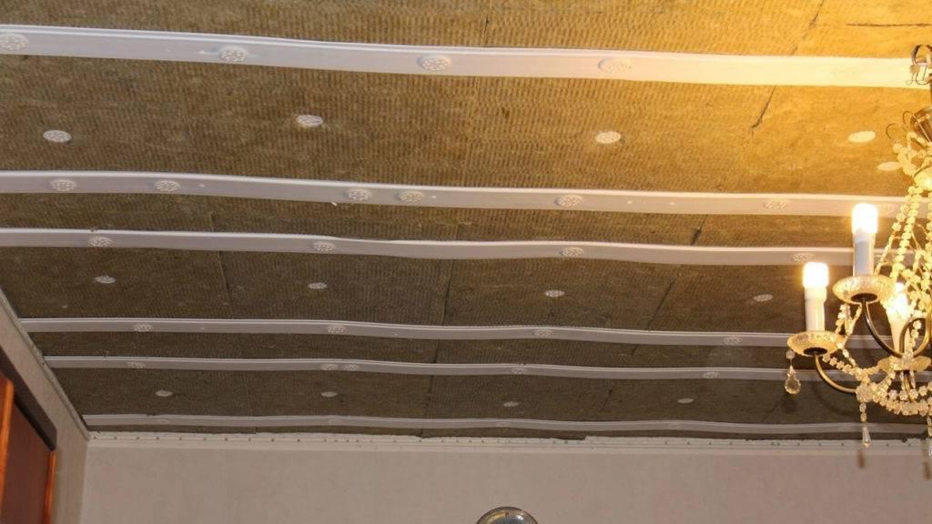 Шумоизоляция потолка: 4 варианта проведения работ