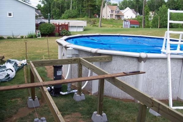 Как сделать бассейн на даче своими руками недорого из подручных материалов: идеи с фото, пошаговая инструкция