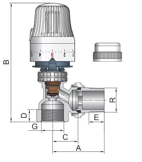 Термостатический клапан: виды и способы установки