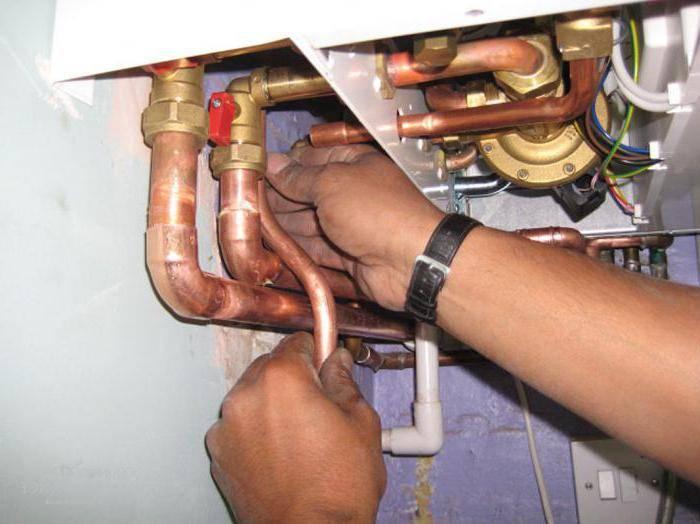 Ремонт системы отопления и ремонт котлов отопления