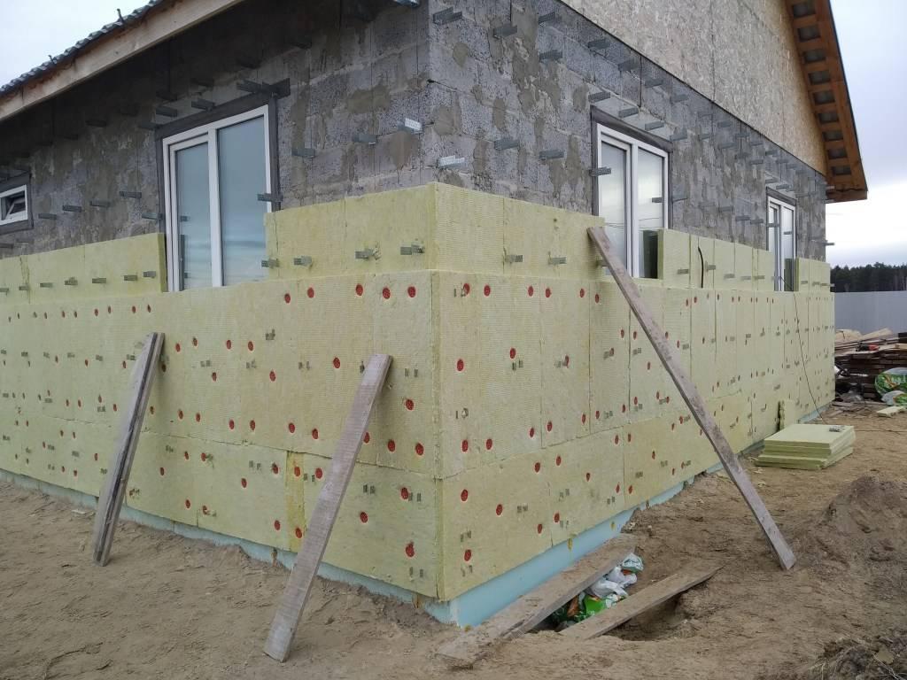 Утеплители для наружных стен дома: минвата, виды