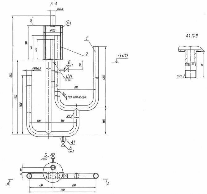 Гидрозатвор для канализации 50, 100, 110 виды, установка