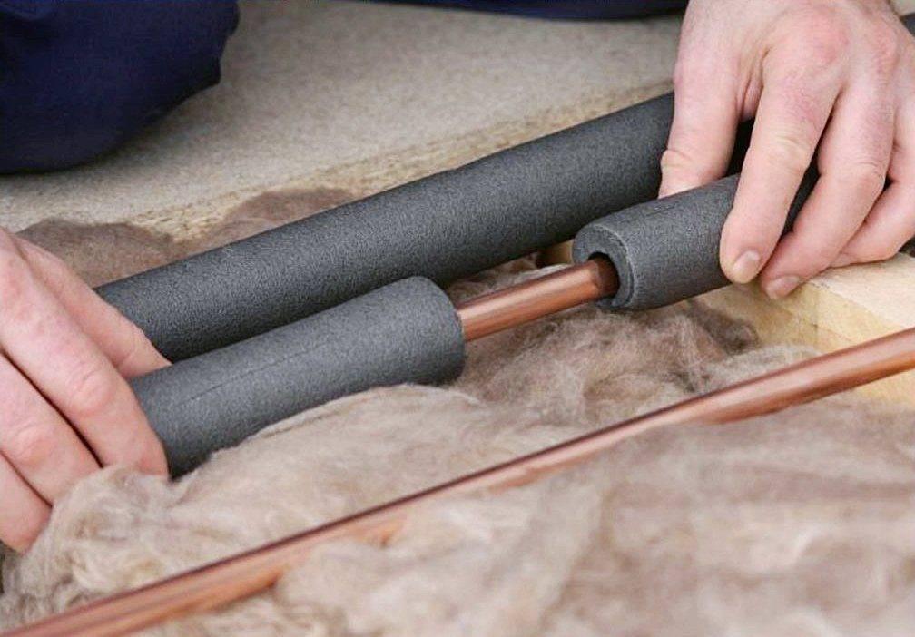 Утеплитель для канализационных труб - варианты и оптимальный выбор