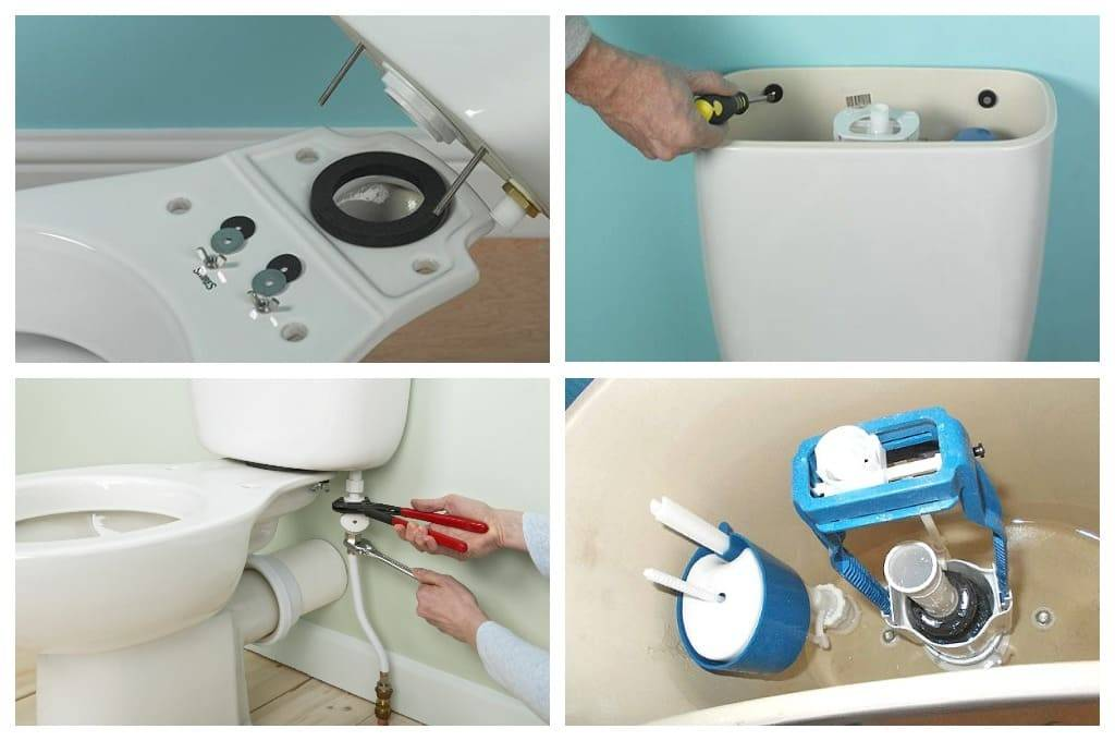 Ремонт сливного бачка унитаза: устройство арматуры, как починить своими руками (+ видео)