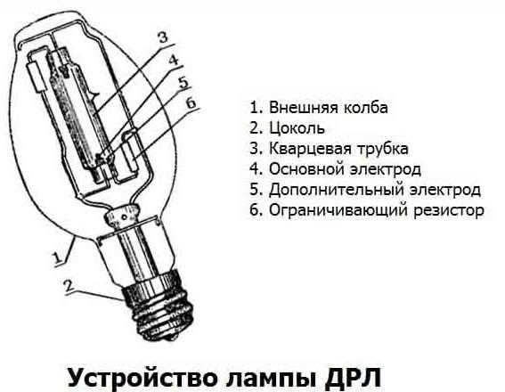 Газоразрядные лампы: виды, устройство, как правильно выбрать лучшие