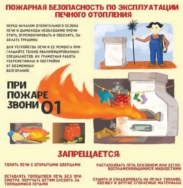 Правила безопасной эксплуатации газового оборудования - о пожарной безопасности простыми словами