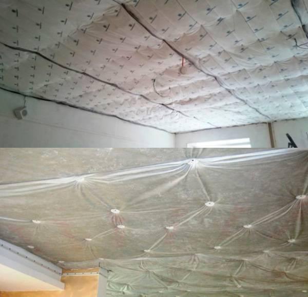 Звукоизоляция потолка в квартире: своими руками под натяжной потолок и от ударного шума