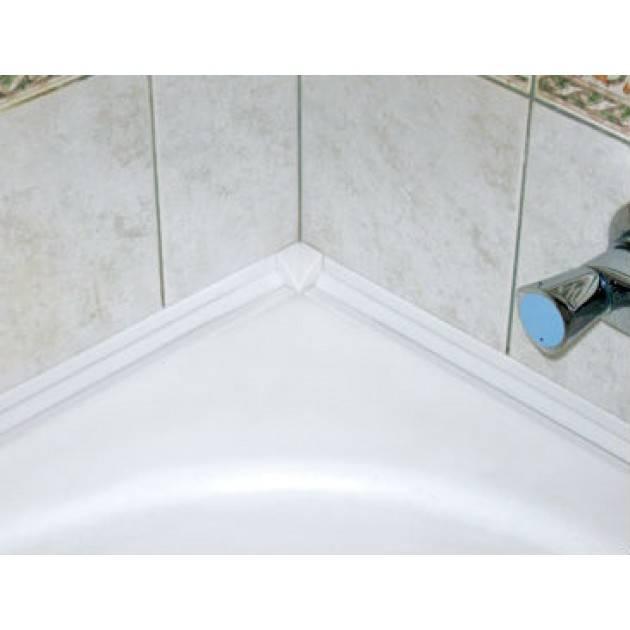 Бордюрная лента для ванной: особенности монтажа