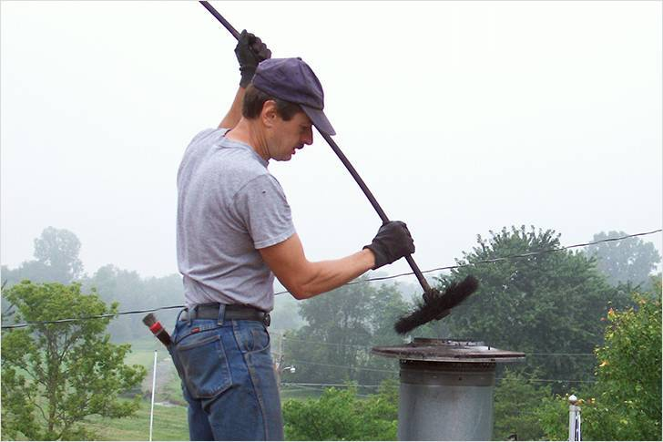 Как прочистить дымоход от сажи своими руками: проверенные методы
