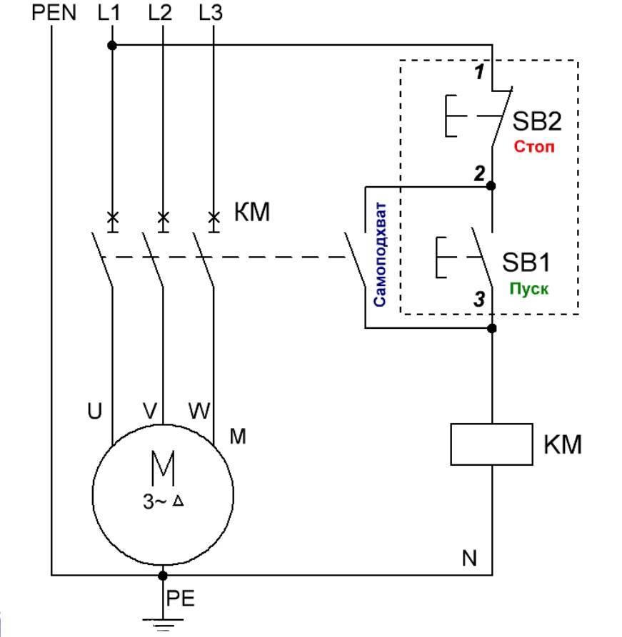 Электромагнитный пускатель:, схемы подключения, технические характеристики, принцип работы