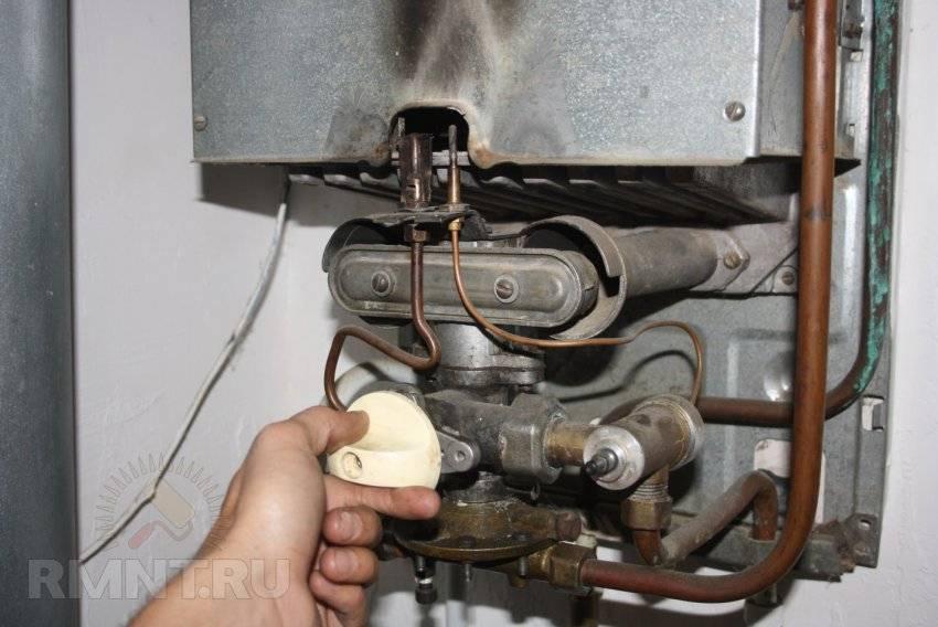 Причины отключения газовой колонки: из-за чего зажигается и тухнет, что делать