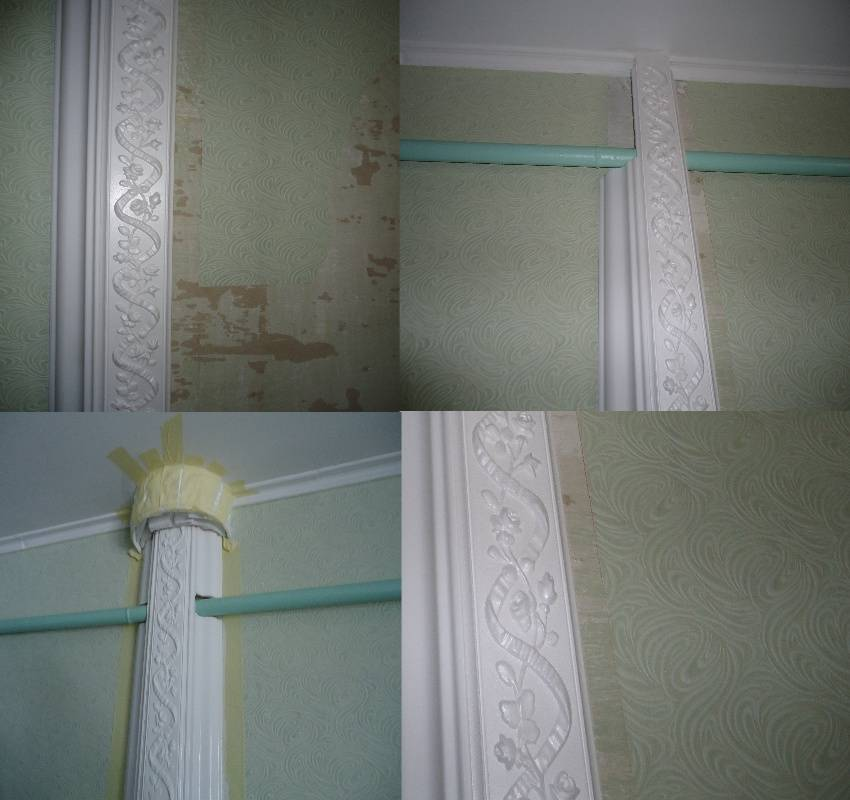 Как спрятать трубы отопления в частном доме и квартире: как скрыть, закрыть отопительные трубы в зале в стену, чехол, куда спрятать на потолке