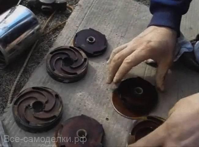 Ремонт насоса водолей своими руками: как разобрать?