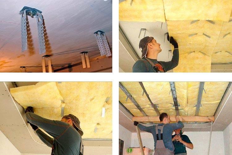 Шумоизоляция потолка в квартире. 16 материалов от ударного шума
