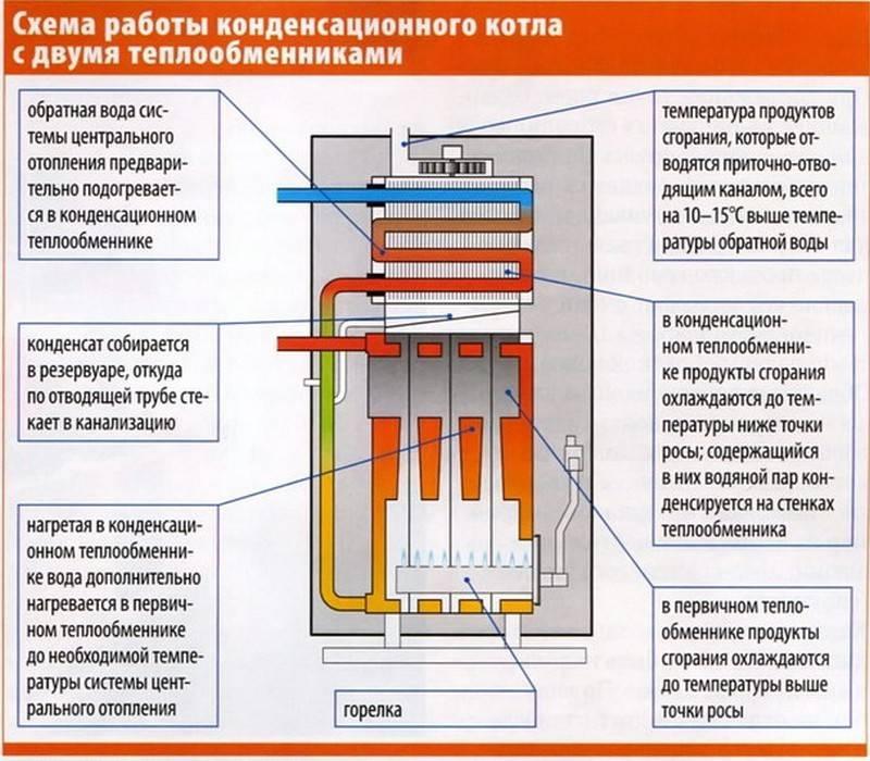 Двухконтурный газовый котел: принцип работы, инструкция и схема