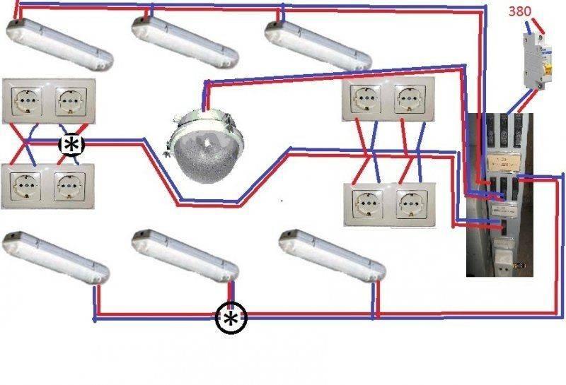 Разводка проводки в гараже: правила проведения монтажного процесса