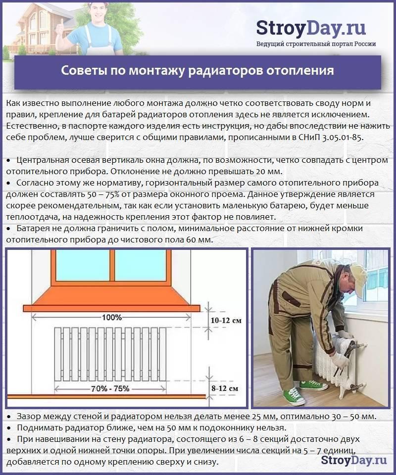 Как подобрать радиаторы отопления для частного дома - всё об отоплении